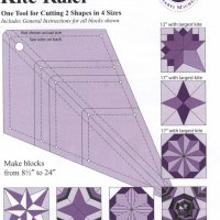 8158	Multi-Size Kite Ruler